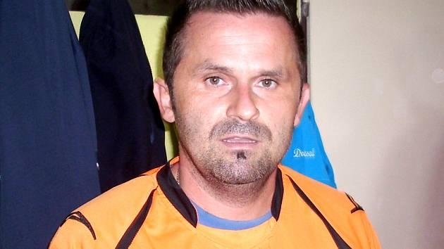 Fotbalista Jiří Vobořil.