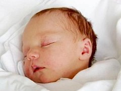 MARTIN ŽÍDEK se narodil 4. února v 8.39 hodin. Měřil 51 centimetrů a vážil 3390 gramů. S maminkou Jaroslavou Samkovou a tatínkem Petrem Žídkem bydlí v Nechanicích.