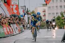 Cyklista Adam Ťoupalík