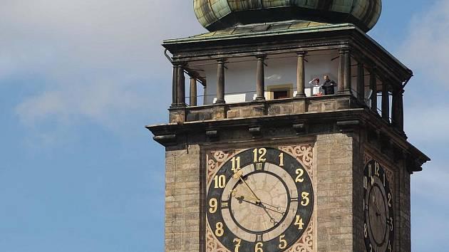 Bílá věž v Hradci Králové - Ilustrační foto.