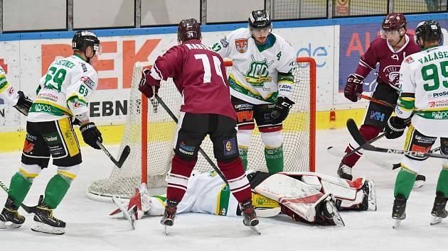 Dvorští hokejisté se proti Letňanům střelecky neprosadili.