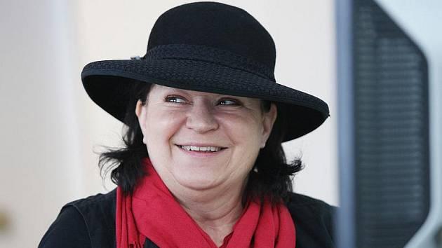 Julie Špalková, předsedkyně občanského sdružení Regionální obec Slováků v Hradci Králové.