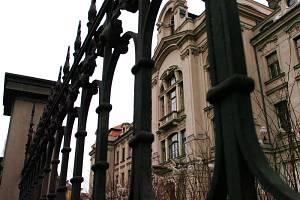 Budova Ústavu pro hluchoněmé v Hradci Králové.
