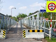 Uzavírka svinarského mostu.