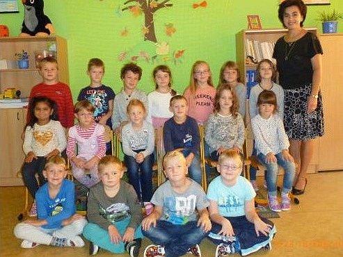Žáci Základní školy Smidary.