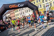 Běžecké závody v Hradci Králové.