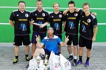 Vítězné mužstvo turnaje - Přátelé futsalu.