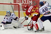 I. hokejová liga: HC VCES Hradec Králové - HC Stadion Litoměřice.