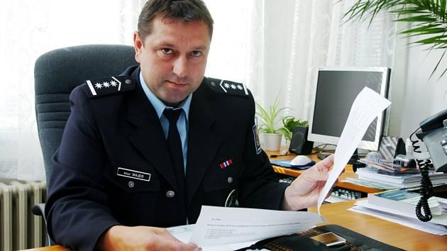 Milan Majer, ředitel oblastního ředitelství CP