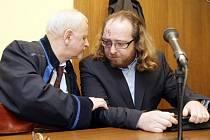 David Matýsek u Krajského soudu v Hradci Králové.