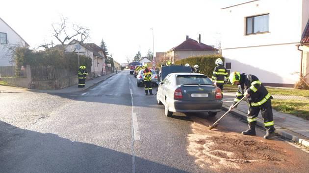Do Třebechovic jeli hasiči dvakrát za odpoledne.