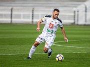Fotbalová Fortuna národní liga: FC Hradec Králové - FK Baník Sokolov.