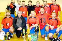 HLDS (Hradecká lesní a dřevařská společnost) - vítězové 7. ročníku fotbalového turnaje v rámci Dne partnerů OFS Hradec Králové.