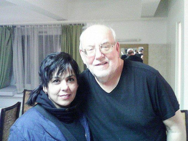 Jan Nedvěd a Sylvie Šrámková.