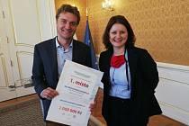 Hradec vyhrál první místo v soutěži Obec přátelská rodině a seniorům.