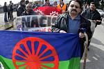 Demonstranti proti rasizmu dorazili do Nového Bydžova