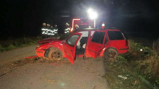 Čtyřiadvacetiletou ženu zřejmě stálo život to, že nepoužila bezpečnostní pás.