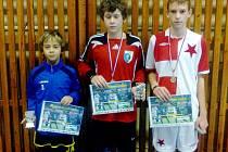 Mladší žáci individuálně ocenění v hlušickém turnaji Pohár Agroslužby a Stavoky Kosice.