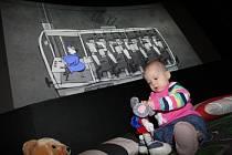 Projekt Baby bio v hradeckém kině Bio Central.