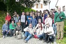 Pobyt studentů ve Slovinsku v rámci projektu.