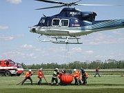 SDH BŘEHRAD: Air Ambulance Show.