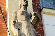 Symbol obchodu v hradecké Divišově ulici.