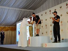 Světové policejní hry v Abú Dhabí.