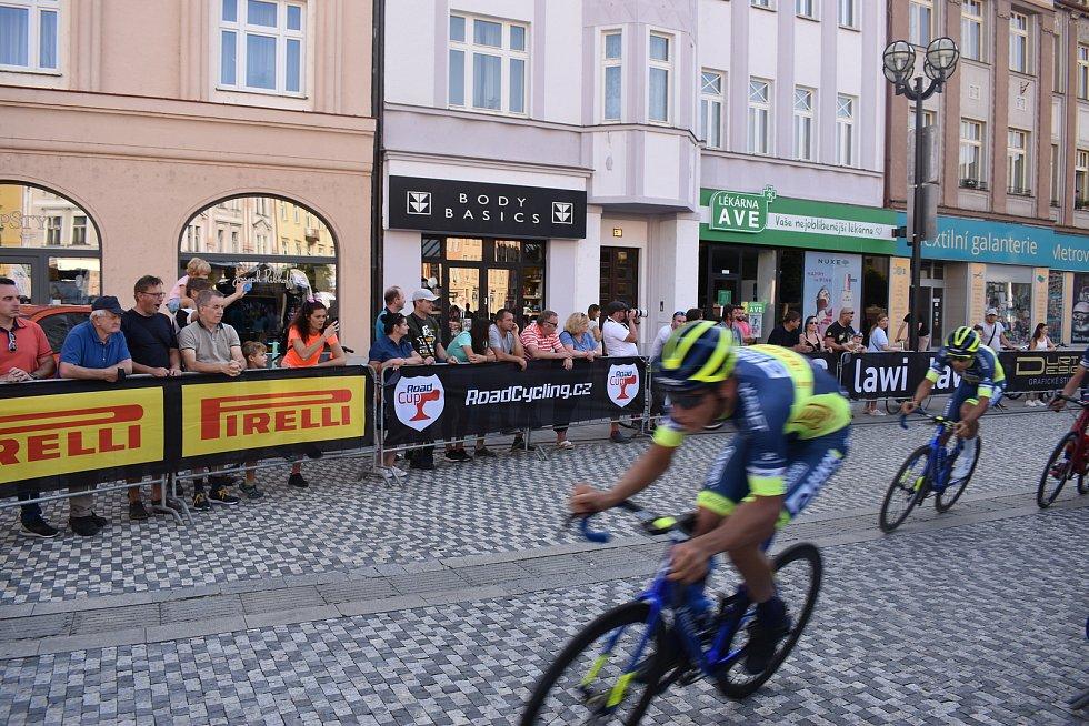 Sobotní Hradec byl ve znamení napínavých závodů na kole.