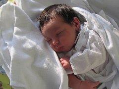 ELIŠKA RAKOVÁ spatřila světlo světa poprvé 21. března v 12.04 hodin. Svými 52 centimetry a 3880 gramů rozradostnila maminku Alenu, tatínka Michala a sestru Vendulu z Jaroměře - Josefova.