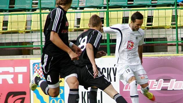 Fotbalová příprava: HFK Olomouc - FC Hradec Králové.