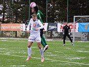 Zimní fotbalová Tipsport liga: FC Hradec Králové - 1.FK Příbram.