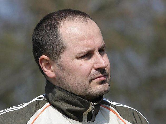 Kouč HC VCES Jiří Mička .