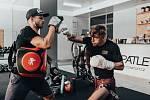 PŘÍPRAVA NA ZÁPAS. Bojovník MMA David Dvořák už své tréninky směřuje ke třetímu souboji v UFC.