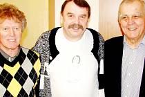 Viktor Sodoma, Jaroslav Balcar a Evžen Gonsior (zleva).