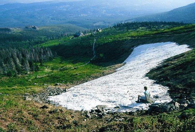 Panorama Krkonoš.
