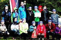 Družstva žáků Východočeské oblasti si z Moravského krasu přivezla zlaté a bronzové medaile.