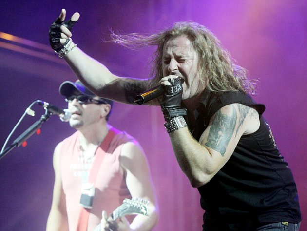 Rock for People 2008 v Hradci Králové, vystoupení skupiny Kabát