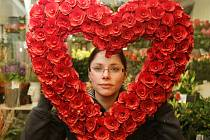 Valentýn - datum 14. února je svátkem všech zamilovaných.