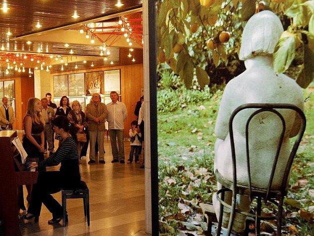 Výstava toskánských zahrad v Aldisu.