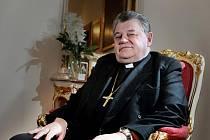 Královéhradecký biskup Dominik Duka.