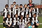Fotbalový turnaj starších přípravek O pohár kapitána na Novém Hradci Králové - Třebeš B.