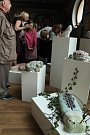 Kořeny - výstava střezinských výtvarníků v hradecké Galerii U Přívozu.
