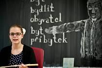 """Královéhradecké gymnázium J. K. Tyla jako """"stroj času""""."""