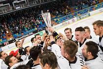 Hokejové derby univerzit v Hradci Králové.