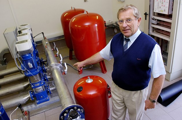 Třebechovický vodojem má novou technologii