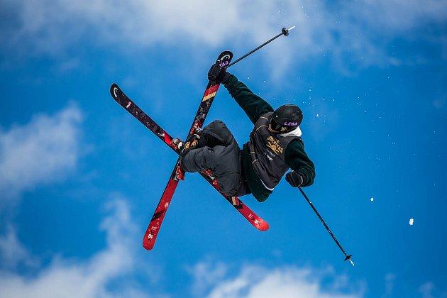 Free ski závody Soldiers 2018 v Deštném v Orlických horách. Na závodech se představily nejlepší freeskieři světa dorazily i medailisté z Korei.