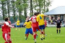 Krajská fotbalová I. A třída: Ohnišov - Roudnice.