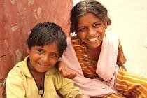 Indické děti.