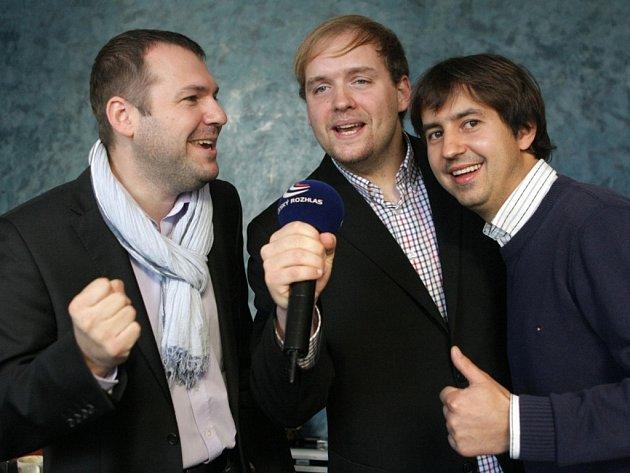 Gentlemen Singers v pořadu Českého rozhlasu.