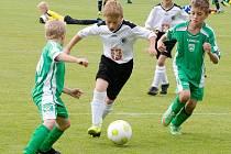 Mezinárodní fotbalový turnaj mládeže Jako Cup na Háječku v Hradci Králové.